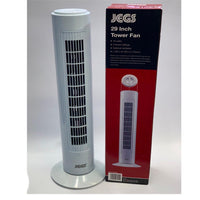 "JEGS OSCILLATING TOWER FAN 29"" 45W AIR COOLING FAN 3 SPEEDS"