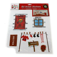 Elf House Sticker Set Self Adhesive Wall Stickers