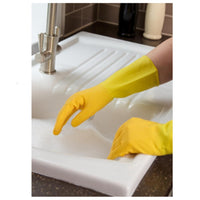 Marigold Kitchen Rubber Gloves Extra Life Triple Layered MEDIUM Size