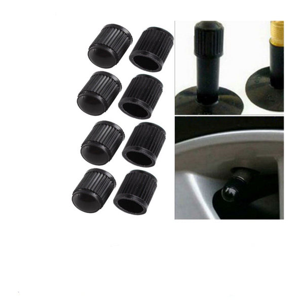 Plastic Bike Bicycle Valve Dust Caps Car Van Motorbike Tyre X12