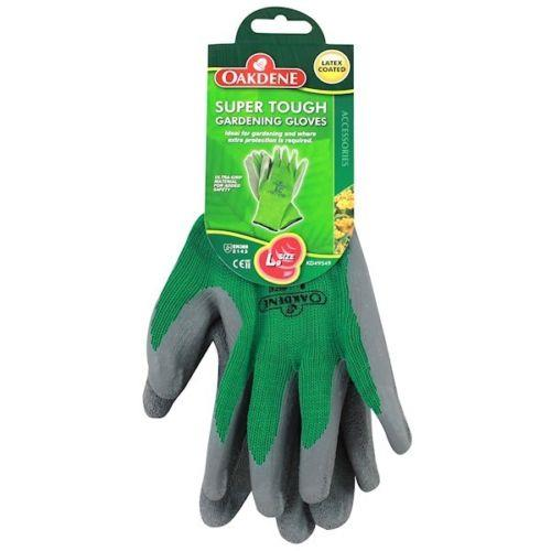 Oakdene Grey Green Super Tough Thorn Gardening Gloves Large Size 9
