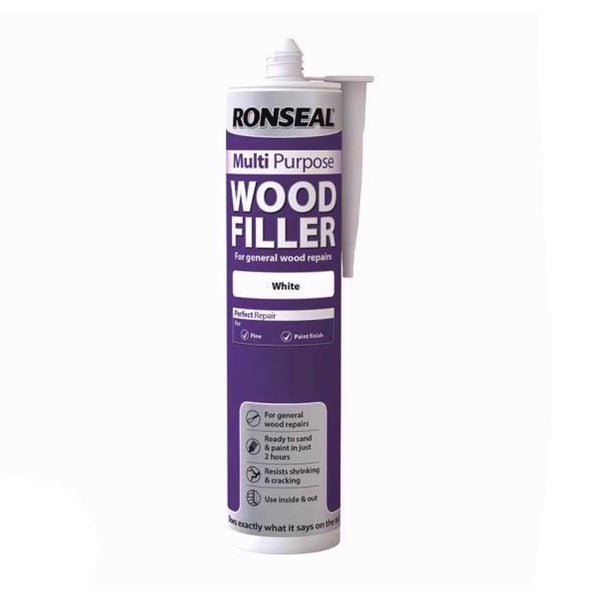 Ronseal Multi-Purpose Wood Fillers 310ml (WHITE)