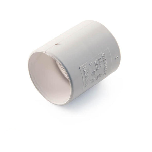 Navigator Solvent Weld Straight Coupling - 32mm White