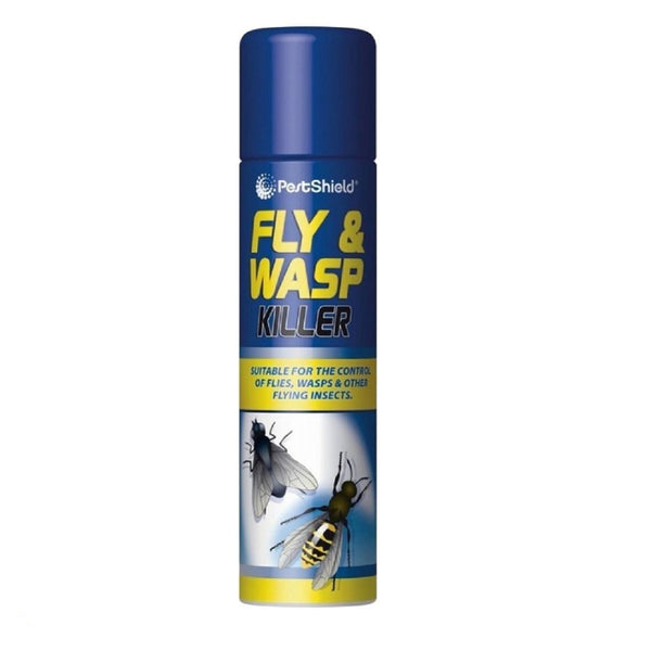 FLY AND WASP KILLER SPRAY Kills Flies Wasp Midges Mosquito Fast Acting 300ml