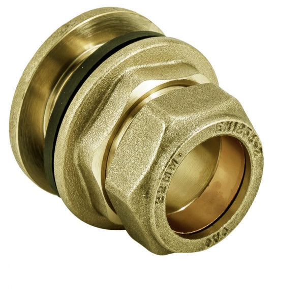 Navigator Brass Compression Tank Connector 15mm