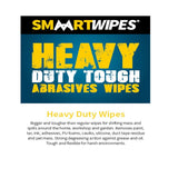 Smaart Wipes Heavy Duty Abrasive Cleaning Wipes Cloths Surface Cleaner - 75pk