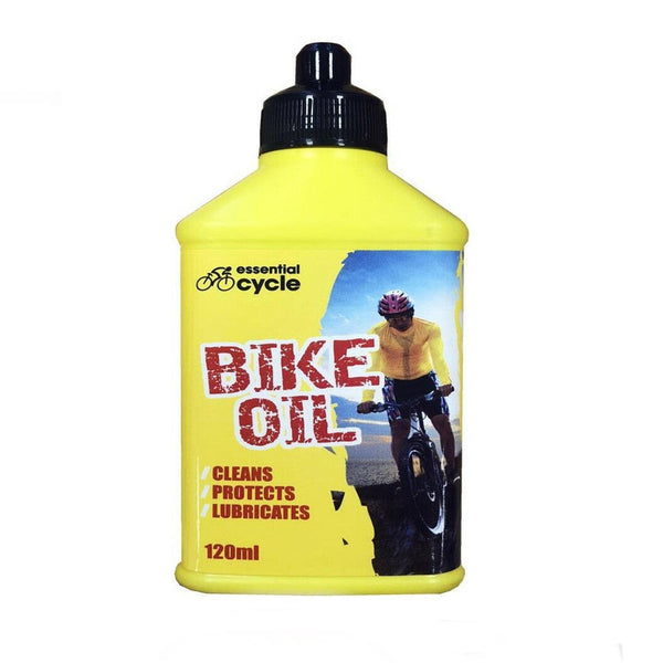 Rapide Essential Cycle Bike Chain Oil Cleans Protect Lubricates 120ml