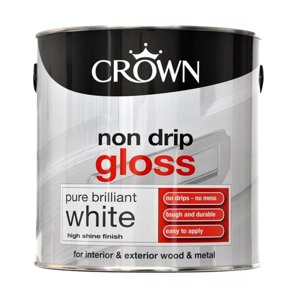 CROWN PAINT LIQUID GLOSS 2.5LT