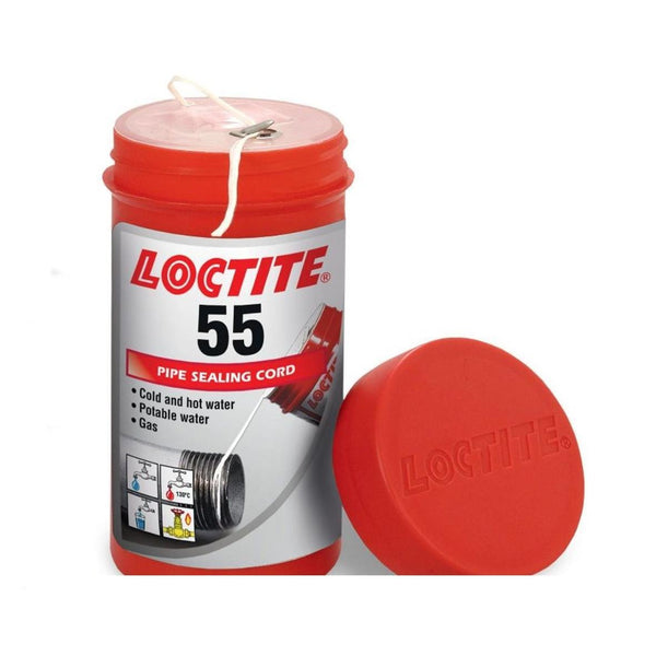 Loctite 55 150m Pipe Thread Sealing Cord Hot and Cold Water and Gas Pipe Sealer