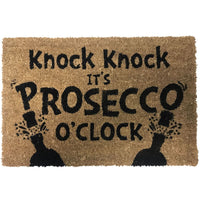 NEW Natural Coir Non Slip Welcome Floor Entrance Door Mat Indoor Outdoor Doormat[Prosecco 2 40x60cm]