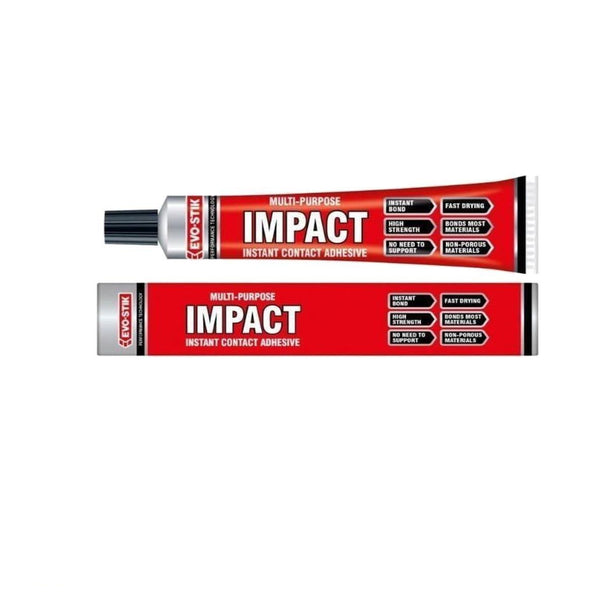 Evo Stick Impact Instant Contact Adhesive Multi Purpose Glue High Strength 30g
