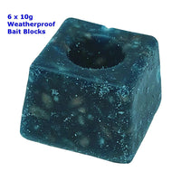 Times Up Rat &  Mouse Weatherproof Blocks 6 x 10g Bait & Kill