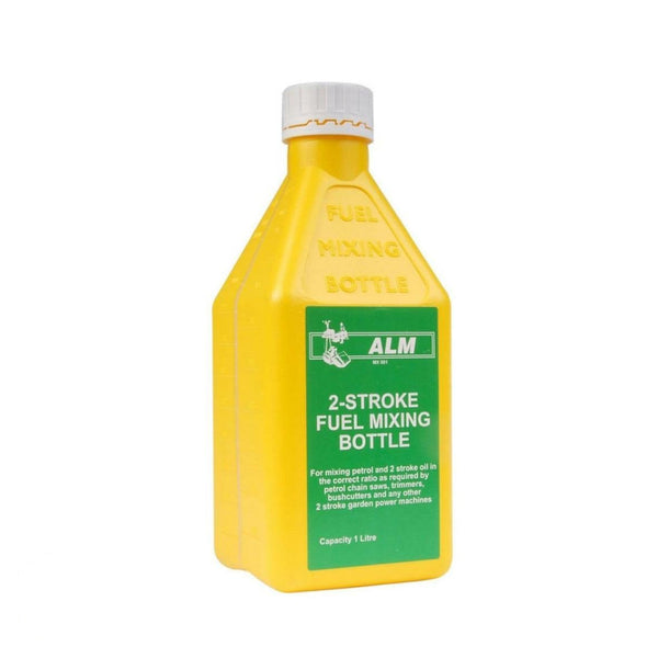 ALM 2-Stroke Fuel Mixing Bottle for mixing petrol and 2 stroke oil 1L