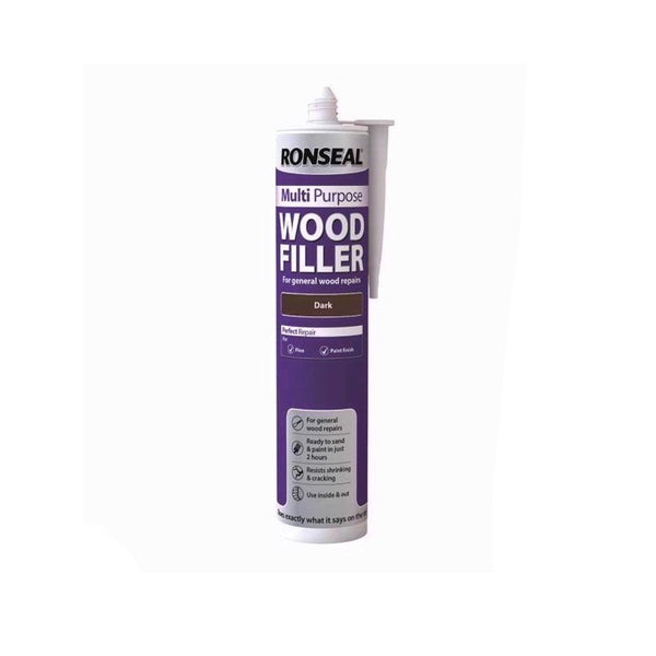 Ronseal Multi-Purpose Wood Fillers 310ml (DARK)