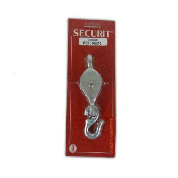 Securit S5215 Washing Line Pulley Zinc Plated 32mm