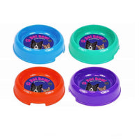 ORANGE Large Plastic Food or Water Pet Bowls World of Pets 500ml