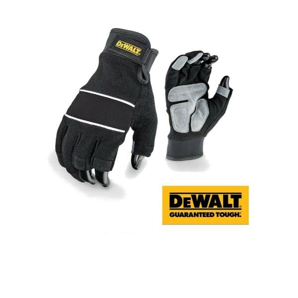 DeWalt DPG214L EU Performance 3-Finger Work Gloves Black Large