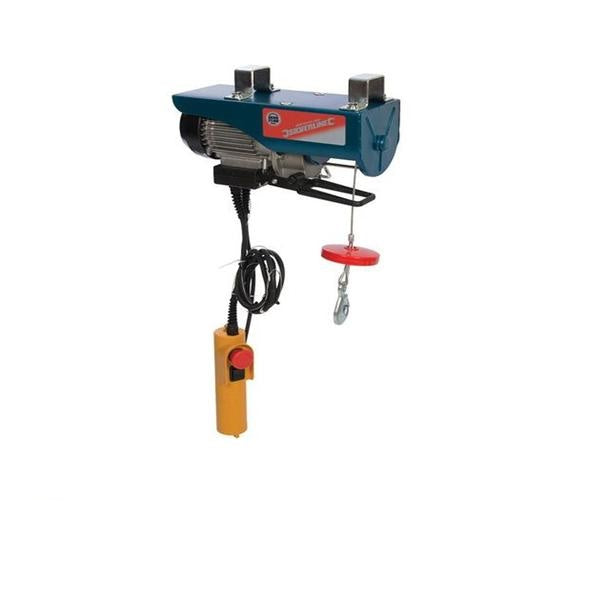 Electric Lifting Winch Hoist 250kg Scaffold Mounted for Workshop/Garage