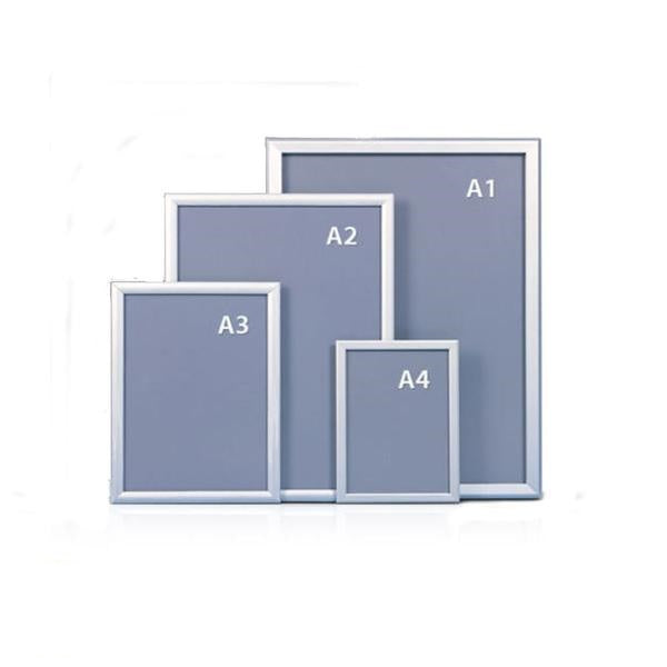 A2 Snap Frame Poster Clip Holder Display Retail Wall Notice Board