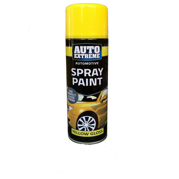 Yellow Gloss Spray Can