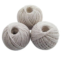 Pack of 3 Cotton String Balls Grey Strings Twine Rope Household Home Office