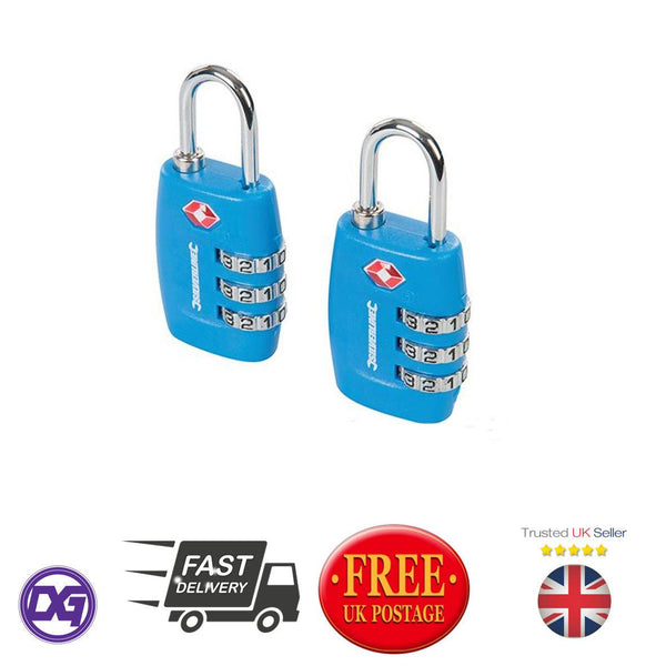 TSA Combination Luggage Padlocks 2pk