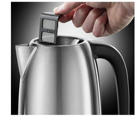 Russell Hobbs Adventure Brushed Stainless Steel Electric Kettle 3000W, 1.7 Litre