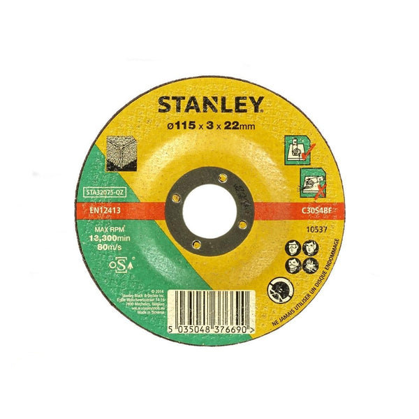 Stanley 115mm Stone Cutting Disc - STA32075-QZ