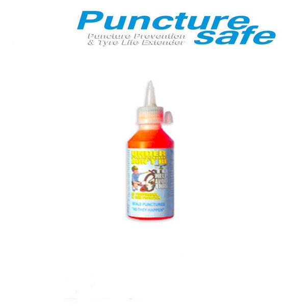 PunctureSafe Bicycle Bottle 280ml Repair - FREE Delivery