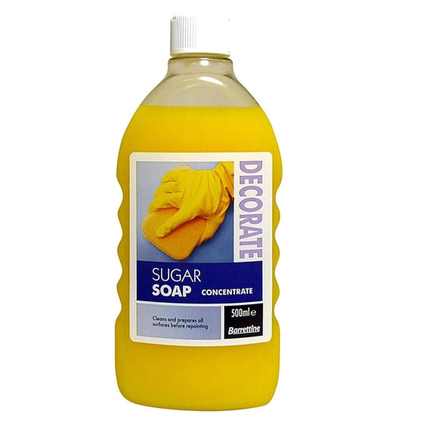 Sugar Soap Concentrate, Barrettine,500ml,Prepares all Surfaces