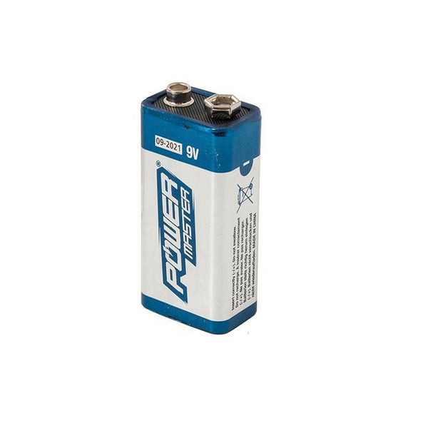 Power Master 9V Super Alkaline Battery 6LR61 - Blue