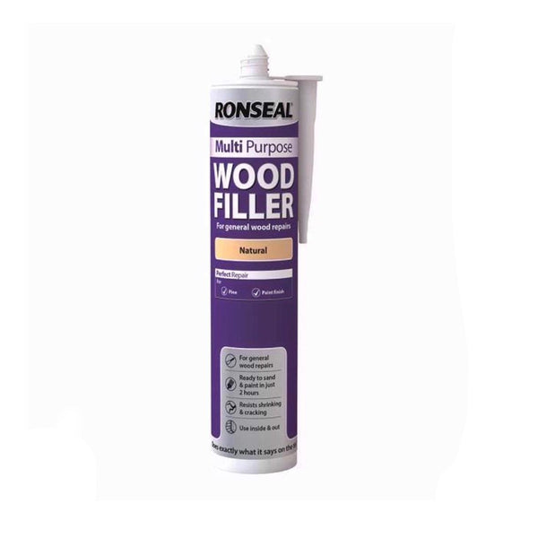 Ronseal Multi-Purpose Wood Fillers 310ml (NATURAL)