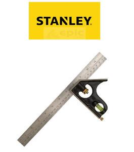 "STANLEY 30MM/12"" RAYBONE COMBINATION SQUARE"