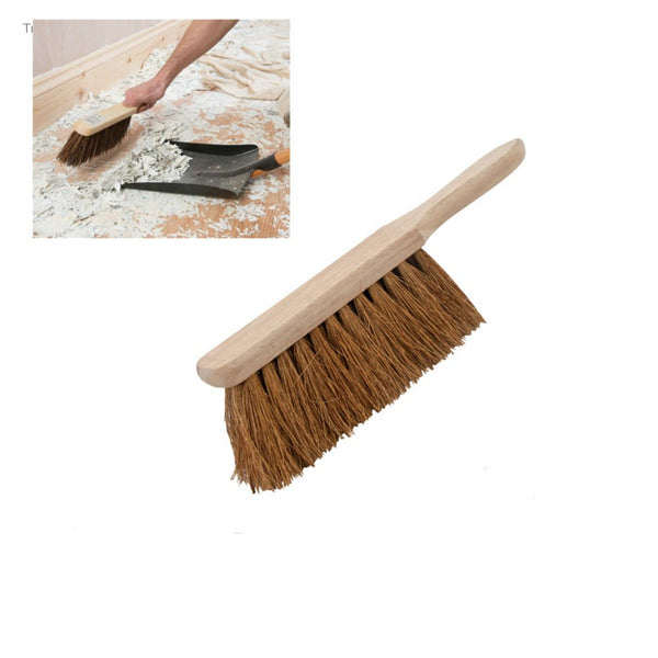 "Silverline Soft Coco Hand Brush For Indoor / Outdoor Use 279mm (11"") - 277870"
