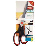 Kitchen Scissors Stainless Steel Household Scissor Soft Grip Red/Black 9""