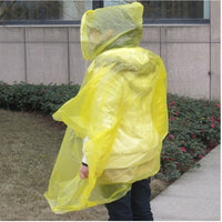 Adult Ponchos One Size Fits All, Pack of 2, Ideal for Camping, Festivals, Hiking