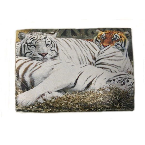 Folding Storage Box Jewellery Memory Organizer 20 X 15 X 15 cm Tigers Design