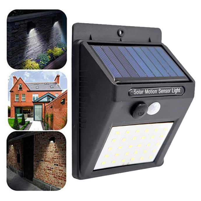 Unboxing Solar Powered Outdoor Motion Sensing LED Light