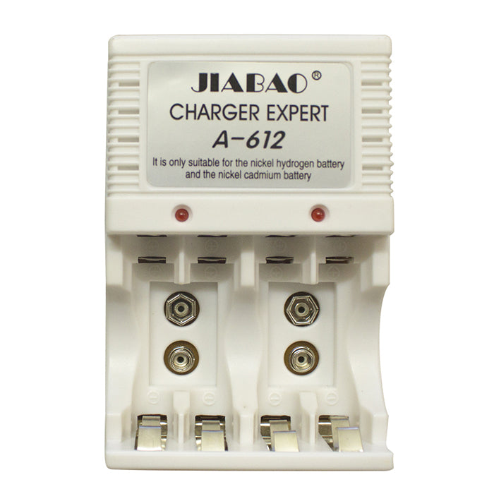 Rechargeable Battery Charger with batteries