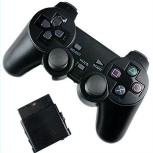 Wireless Vibraton Controller 3 in 1 Compatible with PS2, PS3 and PC