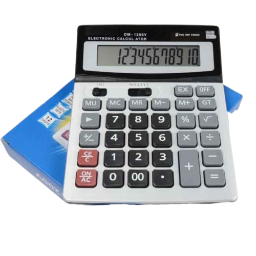 Electronic Calculator DM-1200V