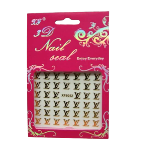3D Nail Art Sticker