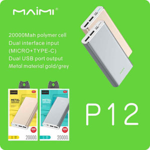 Maimi P12 Power Bank 20 000mah
