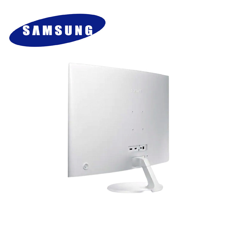 "SAMSUNG 32"" White Curved Monitor - 1.8m Curve Radius"
