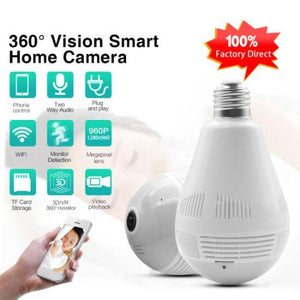 Spy Wifi Panoramic Camera