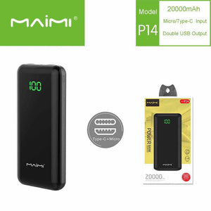Maimi P14 Power Bank 20 000mah