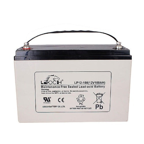 100Ah 12V AGM SOLAR BATTERY