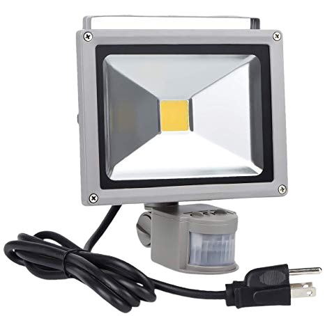 Motion Sensor Floodlight Outdoor, 20W