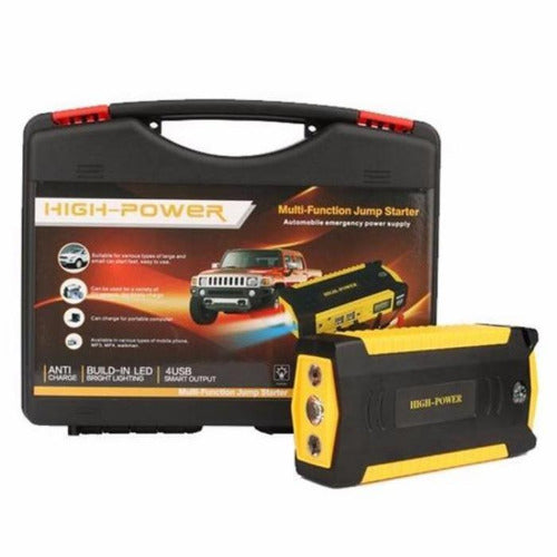 Car Emergency Portable Multi Functional Starter Battery with kit