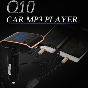 Q10 Car MP3 2In1
